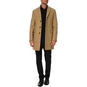 Manteaux celio club pour homme - manteau classique 3 boutons camel laine et cachemire ocrieff - soldes