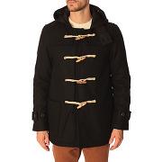 Duffle coat denim & supply ralph lauren pour homme - duffle coat laine noir - soldes
