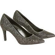 Naf naf escarpins glitter black