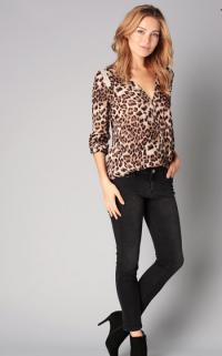 Sélection de tops léopard