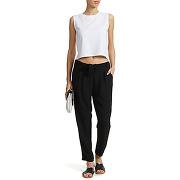 Pantalon only onlrita noir femme