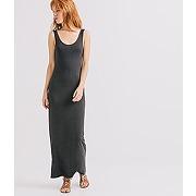 Longue robe debardeur femme gris fonce - promod