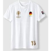 T-shirt uefa euro 2016 deutschland blanc - uefa euro 2016