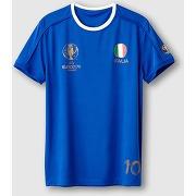 T-shirt uefa euro 2016 italia bleu - uefa euro 2016