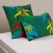 Taies d'oreiller carioca vert - la redoute interieurs