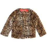Manteau fausse fourrure léopard 2 - 12 ans autres - billieblush
