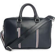Cartables ben sherman - sac briefcase double zip bleu