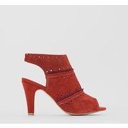 Soldes ! sandales cuir - feminin - marron - la redoute collections