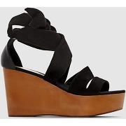 Soldes ! sandales à talons hauts - feminin - noir - la redoute collections
