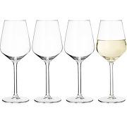 Chaumont, lot de 4 verres à vin blanc