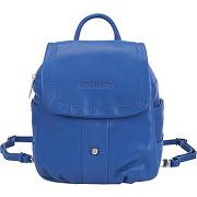 Mini sac à dos en cuir bleu arthur et aston femme