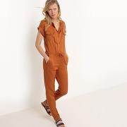 Combinaison pantalon saharienne camel