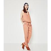 Combinaison-pantalon femme rose des sables - promod