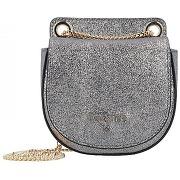 Patrizia pepe mini bag sac bandouliére 12 cm cuir lamina multicolor-argenté-sacs > mini sacs-