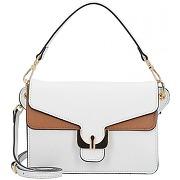Coccinelle ambrine soft mini bag sac à main cuir 19 cm blanche cuir