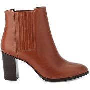 Boots cuir elane cognac