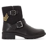 Boots cuir lakao noir