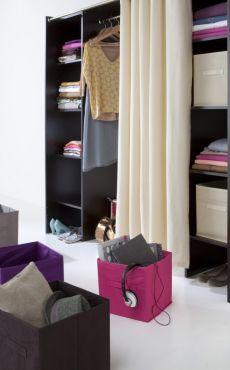 comment organiser son dressing pureshopping. Black Bedroom Furniture Sets. Home Design Ideas