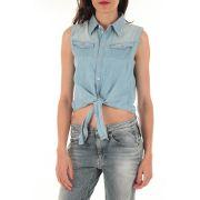 Chemise jeans tailor g star bleu clair