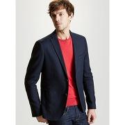 Soldes ! blazer homme ajusté coton - masculin - bleu - cyrillus