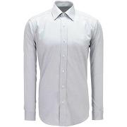 Chemise faux uni comfort fit - gris - homme - arrow - solde