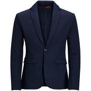 Veste blazer jprharry coton gris - jack and jones premium
