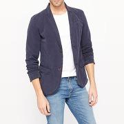 Veste blazer coupe slim - masculin - bleu - petrol industries