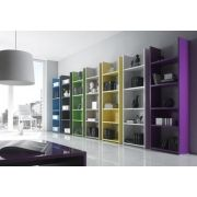 ma biblioth que parfaite pour mon salon pureshopping. Black Bedroom Furniture Sets. Home Design Ideas