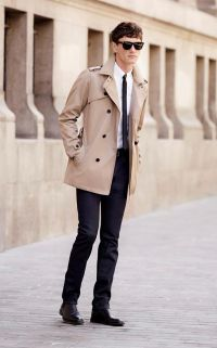 Look homme trench