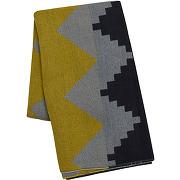 d7638fcf79e0 épuisé Echarpe formes géométriques - echarpes - femme - bleu - galeries  lafayette - solde