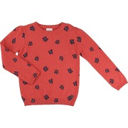 Pull rouge fille - carrement beau