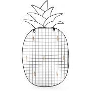 Nana mémo en métal et forme d'ananas
