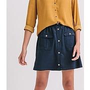Jupe en jean femme jean rinse - promod