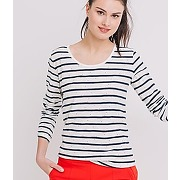 T-shirt raye mariniere femme raye marine - promod