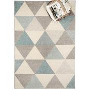 Benuta tapis pastel geomet turquoise 80x150 cm