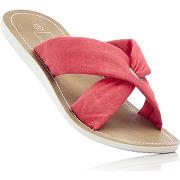 Mules rouge chaussures & accessoires - bonprix