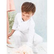 Chemise cÉrÉmonie garÇon avec plastron blanc femme - cyrillus