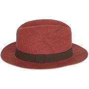 Chapeau uni couleur rouge tomette - monoprix femme