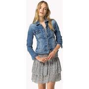 Femme > vêtements > manteaux et blousons female tommy hilfiger bleu