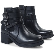 Boots/bottines femme metallica