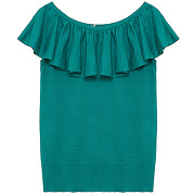 Pull paon - vert - femme - sinequanone