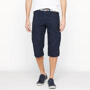 Soldes ! bermuda battle long avec ceinture intégrée - masculin - bleu - tom tailor