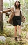 Manteau en peau lainée : la grande tendance de l'automne
