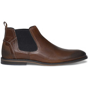 Chelsea boots cuir marron