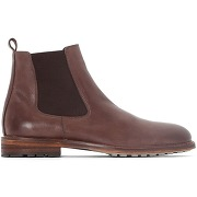 Soldes ! boots cuir - masculin - marron - la redoute collections