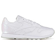 Baskets reebok cl leather l blanc femme