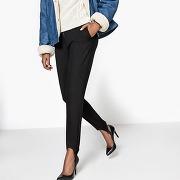 Soldes ! legging fuseau avec étrier - feminin - noir - la redoute collections