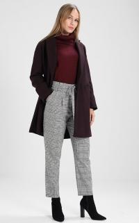Pantalon à carreaux (Zalando)