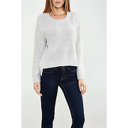 Pull cheap monday save gris femme