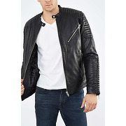 Veste moss jack & jones noir